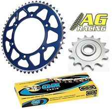 Yamaha YZ 125 05-11 Regina 520 O-Ring Chain Sprocket Set 13T 52T Blue