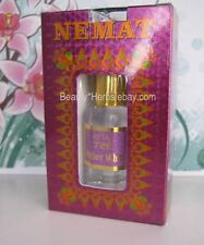 AMBER WHITE Indian Perfume Oil Attar 10 ml High Quality Free of Alcohol by Nemat
