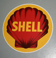 Early style Shell self-adhesive vinyl decal Gilbarco / Wayne 605 petrol bowser