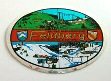 Souvenir-Aufkleber Feldberg 4 Jahreszeiten Hochschwarzwald Breisgau 80s Oldtimer