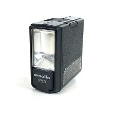 Minolta Electroflash 20 Electro Flash Unit