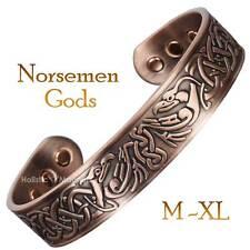 VIKING Bracelet Mens Copper Magnetic Bracelet for Arthritis Pain Joint Wrist -VE