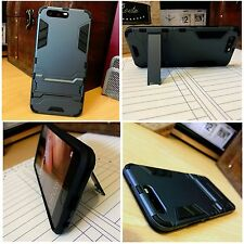 Huawei P10 Rugged High Impact Displacement Case Tough Balistic Shell Blue Black