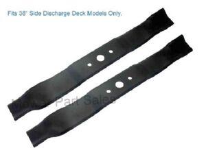 "Blade Set Mulching Fits 38"" Deck Mountfield 1538H-SD, 1438M, T38M-SD, T38SD J98"
