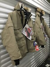 Canada Goose EXPEDITION Parka TAN 4XL COYOTE Fur - RARE / Vintage NEW w/ Tags