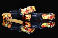 Autumn Dog Collar Leash Lead Harness Brown Gold Small Medium Large Dogs Luxury