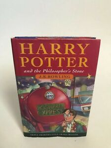 Harry Potter and The Philosophers Stone 1st edition UK 32nd printing JK Rowling