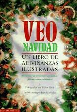 Veo navidad: un libro de adivinanzas ilustradas