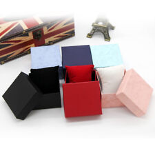 Present Gift Boxes Case For Bangle Jewelry Ring Earrings Wrist Watch Box SEAU