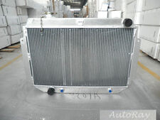 Aluminum Radiator For HOLDEN HQ HJ HX HZ V8 Kingswood 253 & 308 AT/MT 3 Core