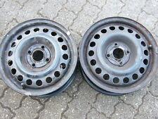 2 Felgen Stahlfelgen Opel Astra F Kadett E Felge Stahlfelge 5,5x14