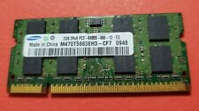Samsung 2 GB Laptop Memory Ram M470T5663EH3-CF7 PC2-6400 DDR2-800
