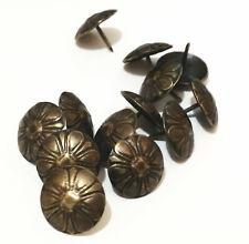 Vintage Bronze Upholstery Nail Jewelry Gift Box Sofa Decorative Tack Stud