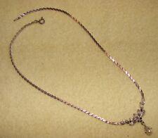 925 Silber Orquidea Anhänger mit Mallorca-Perlen Kette 45 cm 61267 Hochzeit
