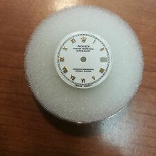 Rolex Datejust Dial White with Gold Roman Numeral Markers fits 26mm