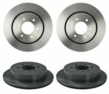 Brembo Front and Rear Brake Disc Rotors Coated Vented For Ford F-150 XL XLT 2011