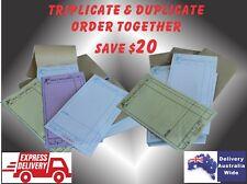 Wholesale 200 LARGE Restaurant Docket Books. Carbonless Duplicate &Triplicate