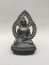 Tibet Bronze 24k Gold 4 Arms Vajra Phurpa Mahakala Wrathful Deity Buddha Statue Easy To Repair Asian Antiques