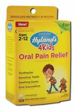 Hyland's, 4 Kids, Oral Pain Relief, Ages 2-12, 125 Tablets - Original