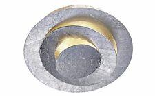 LED Lampe Deckenlampe näve silberfarben Ø 24 cm                   028206
