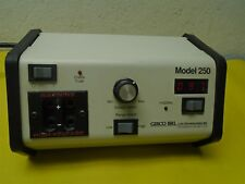 GIBCO BRL Model 250 Power Supply 0-250 VDC Used Powers Up