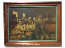 President Nixon's Collection HONORE DAUMIER Third Class Carriage Lithograph 6/24