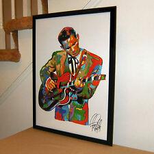 Chet Atkins Guitar Rockabilly Country Picking Music Poster Print Wall Art 18x24