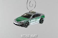 German Police 5 Series Executive Car BMW M5 Christmas Ornament 1/64 E39 E60 E34