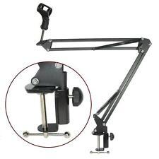 New Mic Microphone Suspension Boom Scissor Arm Stand Holder for Studio Broadcast