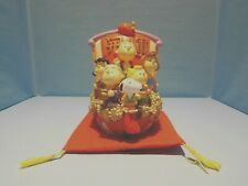 Snoopy/Peanuts Sun Hing Peanuts Gang as the Seven Lucky Gods on their ship RARE