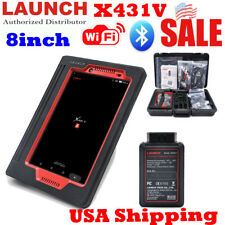 "USA Ship 8"" LAUNCH X431 V 8inch Auto Diagnostic Scanner Tool Full System Reader"