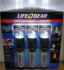 LIFE GEAR 100 Lumens Bright Led Auto Flash Floating Flashlight Torch Lantern X1