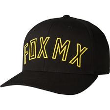 Fox Racing Flexfit Cap Sombrero Negro Tamaño Direct L/XL rápido y Free UK Post