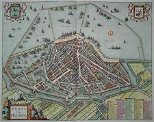 Horna vulgo Hoorn - Niederlande - Jean Covens & Corneille Mortier -Original 1738