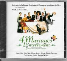 CD BOF/OST 14 TITRES--4 MARIAGES & 1 ENTERREMENT--WET WET WET/GAYNOR/WHITE--NEUF