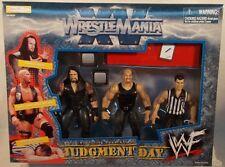 WWF - Wrestlemania XV Judgment Day Steve Austin Undertaker Vince McMahon MISB