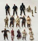 Star+Wars+figures+lot+of+14+Maul+Battle+Droid+Vader+c3po+custom+fodder+lot