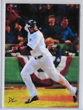 David Ortiz Authentic Artist Signed 2016 Limited Edition Print Card 4 of 5.