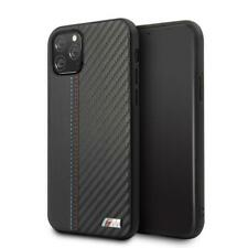 "BMW PU Leather Case iPhone 11 Pro Hard Case M"" Lines Contrast Stripe Black"
