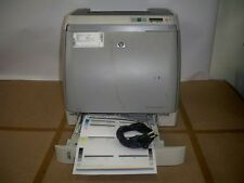 HP Color LaserJet 2600n Q6455A Laser Printer w/Power Cable&Toner Under 34K Pages