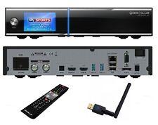 Gigablue UHD Quad 4K 2xDVB-S2 FBC ULTRA HD inkl Giga Blue W-Lan Stick 600 Mbit