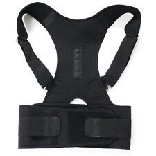 Adjustable Back Shoulder Brace Support Belt Magnetic Posture Corrector Therapy