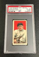 New York Giants John McGraw T206 Piedmont PSA 4 (MK) Vg-Ex Portrait with Cap