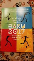 Baku 2017 4th Islamic Solidarity Games Stamp Block 2017
