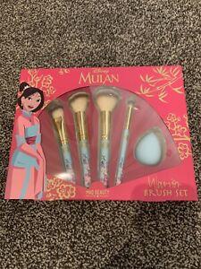 Disney Mulan Warrior Makeup Brush Gift Set - BRAND NEW SEALED