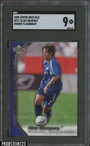 2005 Upper Deck MLS Soccer Rookie Flashback Clint Dempsey SGC 9 MINT