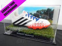 ✺Signed✺ ROBERT MURPHY Football Boot PROOF COA Western Bulldogs 2020 Jumper AFL