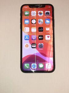 Apple iPhone X - 64 Go - Argent (Désimlocké) Pour Pièces