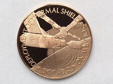 1977 Franklin Mint Skylab II Proof Bronze Medal America In Space A1778