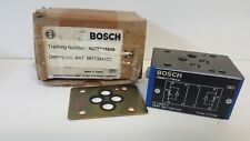 NEW OLD STOCK! BOSCH HYDRAULIC VALVE 0811324103
